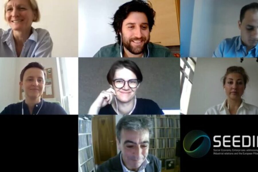 Seeding's first transnational online workshop